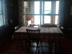 Bayville Rental Cottage Dining Room