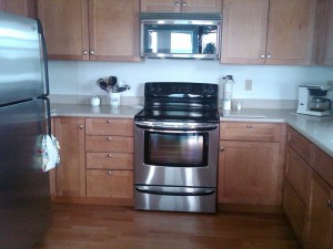 Bayville Rental Cottage Kitchen